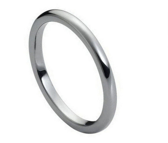 Tungsten 2mm Polished Band