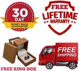 FREE SHIPPING  FREE RING BOX