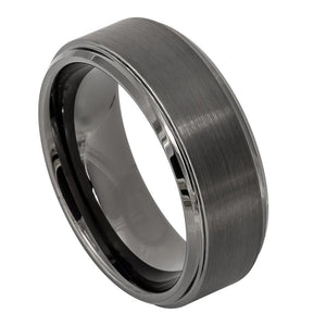 Tungsten - 8mm - Gunmetal