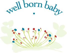 Well Born Baby  Logo