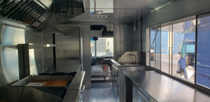 Ready to go Brand new BUILD Food Truck 18'
