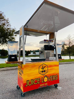 Frozen drinks cart
