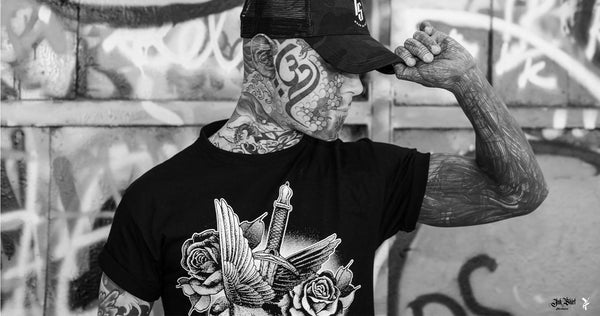 Ink Shirt Tattoo Clothing Brand Homme