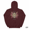 Sweat shirt Homme Hannya mask bordeaux Ink Shirt