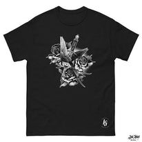 T shirt Homme the rose swallow Ink Shirt 1.1