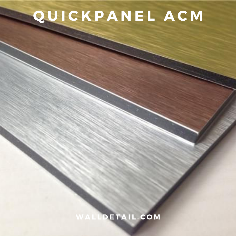 QuickPanel ACM 100 SF Installed