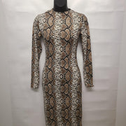 Womens Python Dress