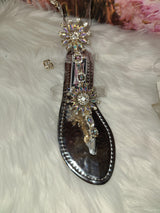 Bejeweled Summer Sandals