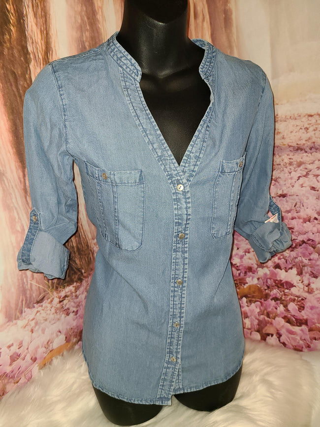 Womens Denim Top