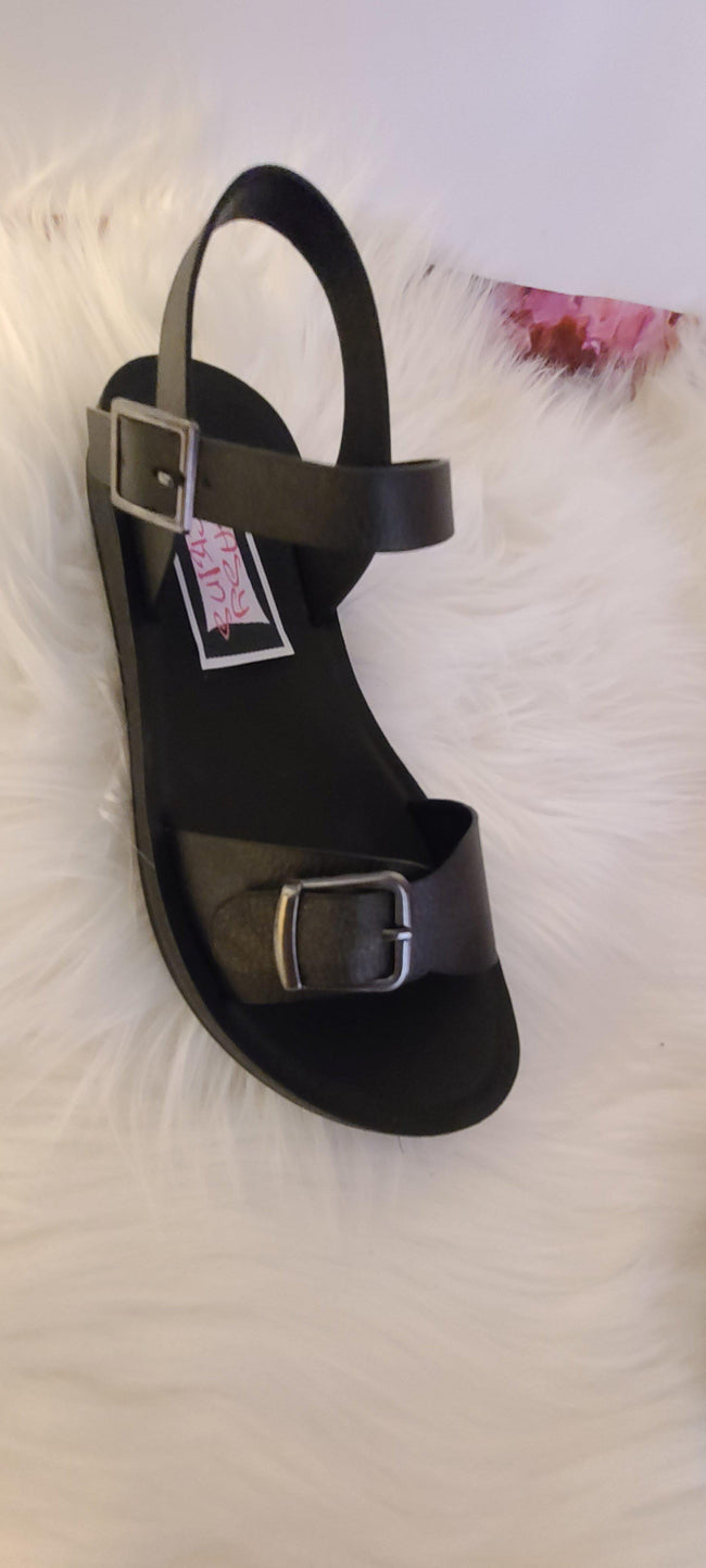 Buckle Up Beach Sandals