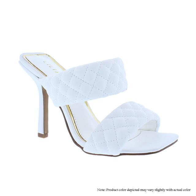 Quilted Party Sandal