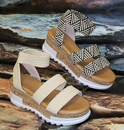 White & Mix WISH Women's Sandals