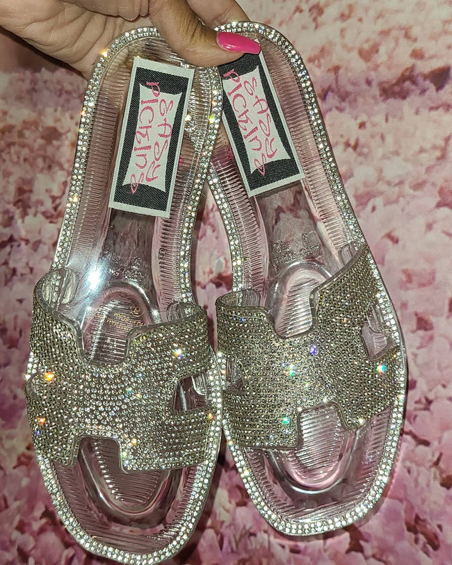 Womens Studded Jelly