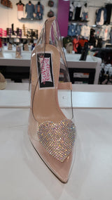 Womens Transparent Heel