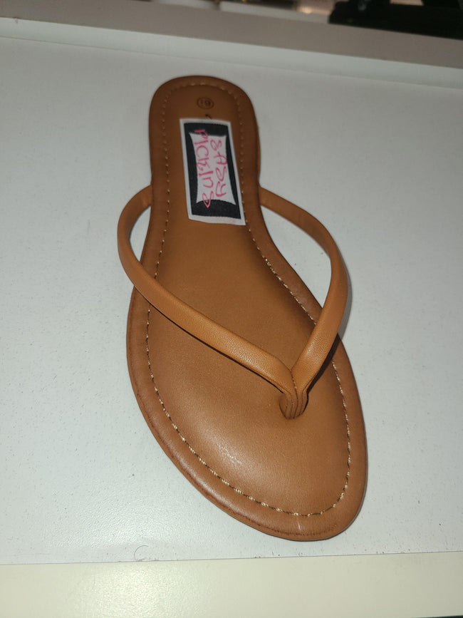 Timeless Solid Thong Sandal