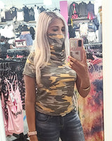 Mask Up Camo Top