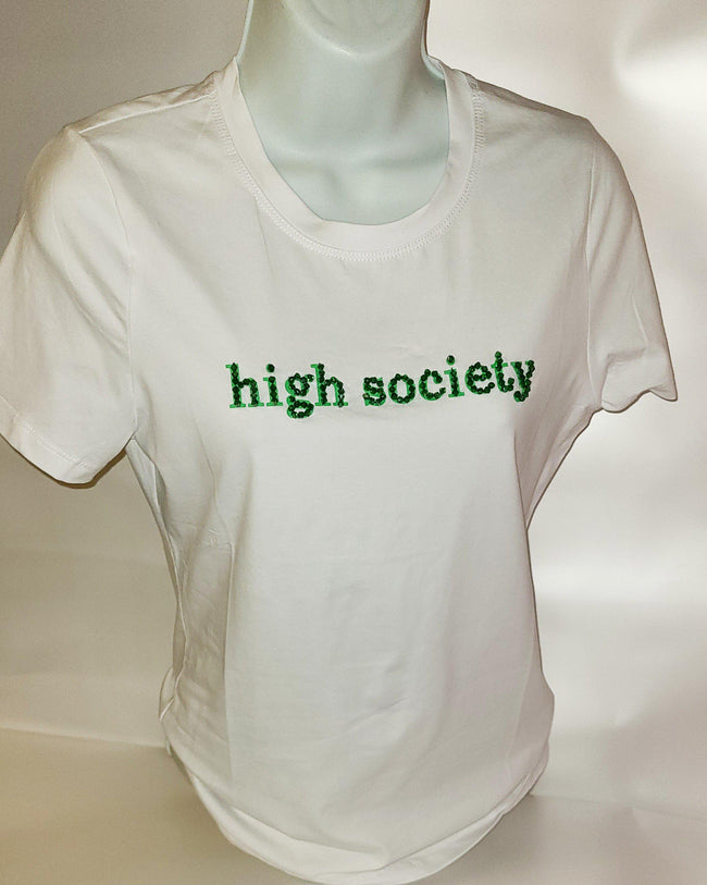 Womens High Society Tee