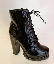 Womens Patent Leather Boot