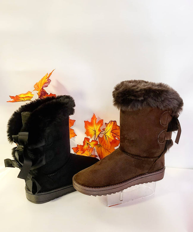 Womens Ugg Bootie with Bows