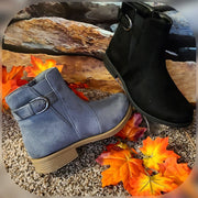 Womens Low Suede Bootie