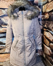 Womens Fur Hood Jacket