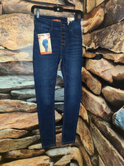 Womens WaX 6 button High Rise Jean