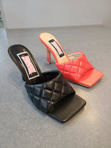 [prodcut_type] - Jolene Square Toe Quilted Dressy Sandal - Easy Pickins
