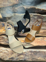 [prodcut_type] - Office and Runway Low Heel Dressy Sandal - Easy Pickins