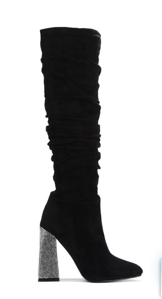 [prodcut_type] - Uptown Girl Over The Knee Boot - Easy Pickins