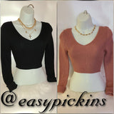 [prodcut_type] - Cropped for Fall Sweater - Easy Pickins