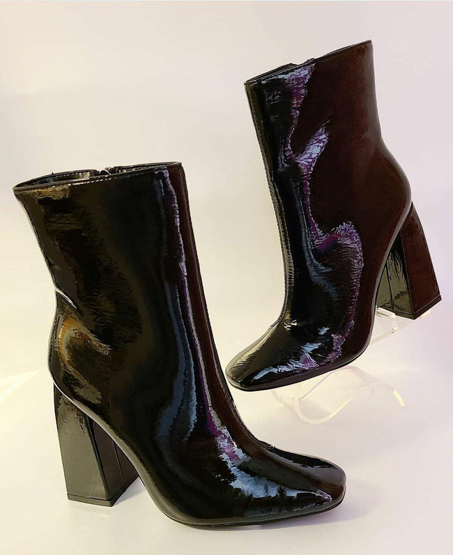 [prodcut_type] - Squared OFF Block Heel Bootie - Easy Pickins