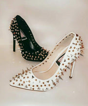 Womens Studded Pump Heel