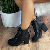 [prodcut_type] - Malibu Lace Up Bootie - Easy Pickins