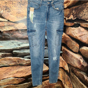 Womens Cargo Pocket Jean