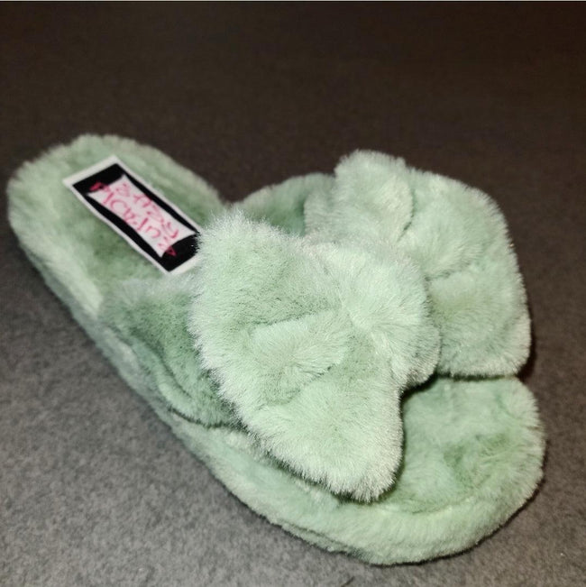 [prodcut_type] - Sleepy Z Faux Fur Slide Sandal - Easy Pickins