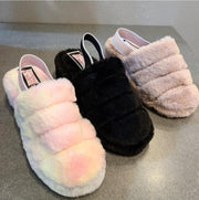 [prodcut_type] - Walk on Clouds Faux Fur Slide Sandal - Easy Pickins