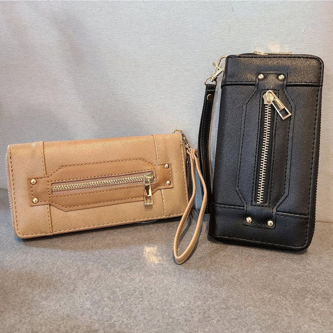 [prodcut_type] - Zippity Doo Da Zip Front Wallet - Easy Pickins