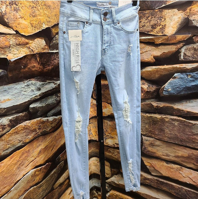 [prodcut_type] - Influencer Distressed Denim Jean - Easy Pickins