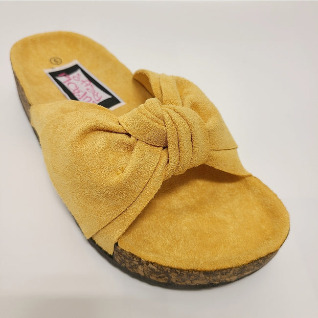 [prodcut_type] - Better in Birks Faux Suede Slide Sandal - Easy Pickins