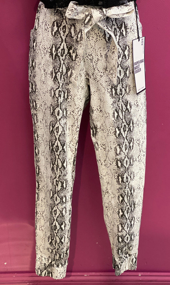 Womens snakeskin pants