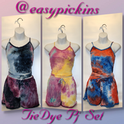[prodcut_type] - Peace & Love PJ Shortset - Easy Pickins
