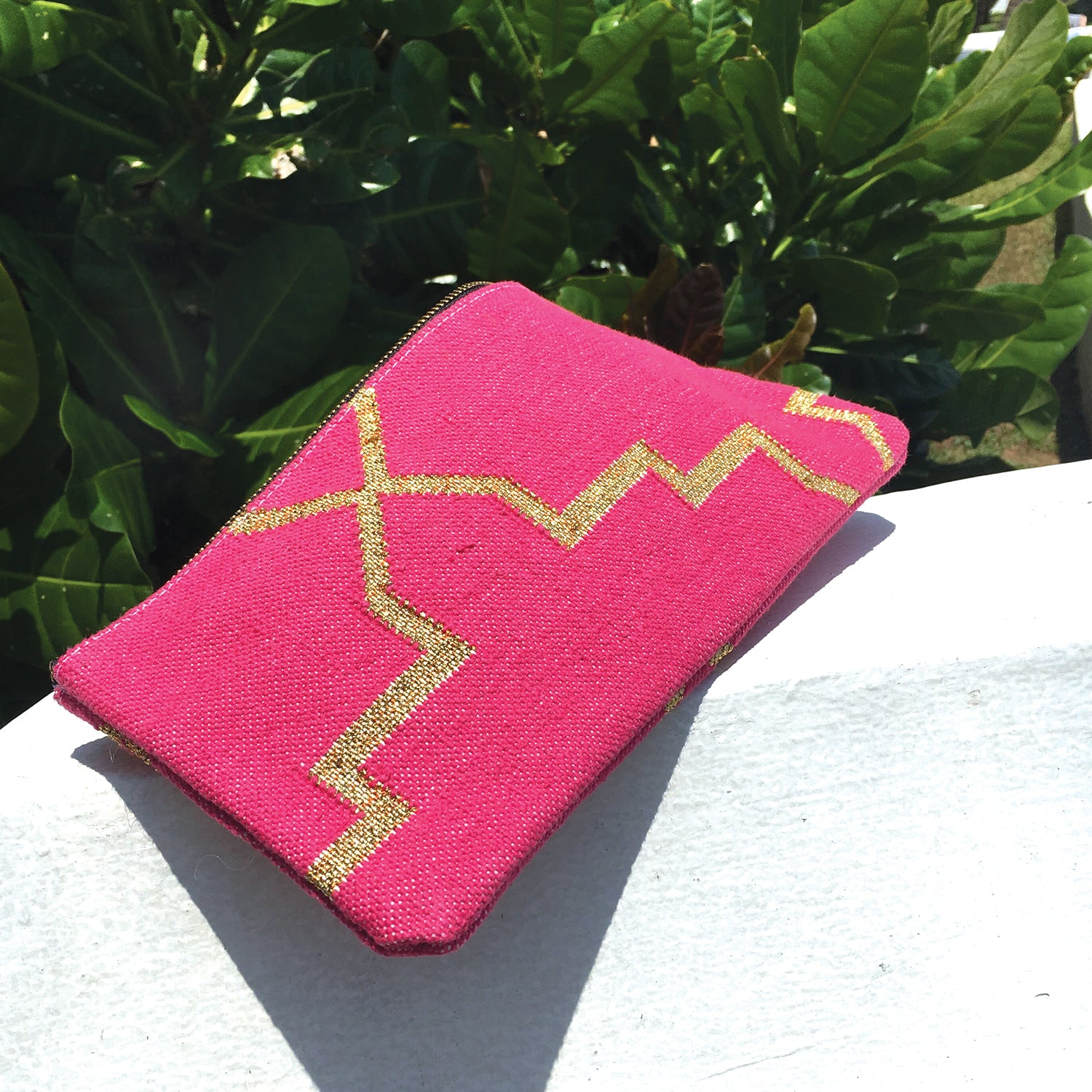 Dhurrie Clutch Bag