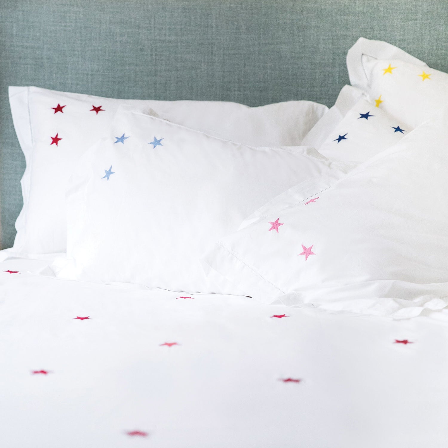 Star Embroidered Bed Linen