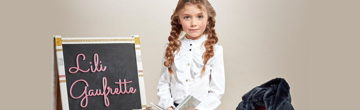 Lili Gaufrette Paris Children's Clothing| Honeypiekids