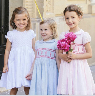 Antoinette Paris Hand Smocked Dresses - Honeypiekids.com | Honeypiekids