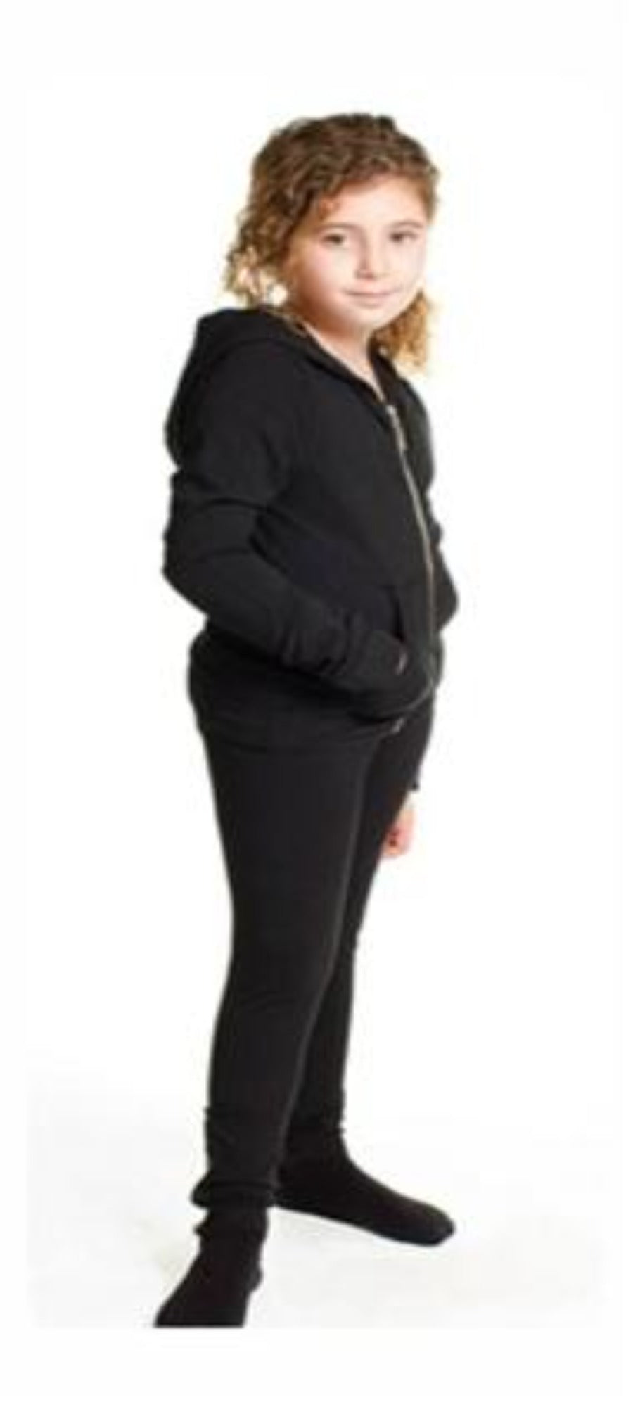 Hardtail Black Zip up Hoodie - Honeypiekids.com