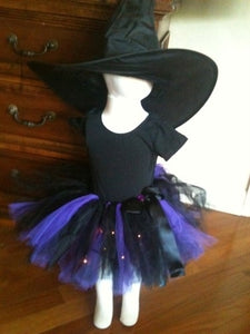 Light Up Witch light up Tutu Costume - Honeypiekids.com