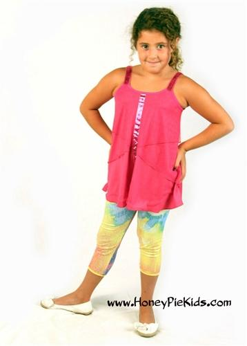 Honeypiekids | Lipstik Sunburst Sequin Leggings