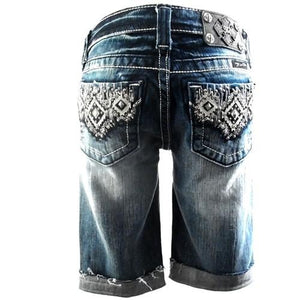 honeypiekids | NEW Miss Me Girls Indian Decoration Bermuda Jeans