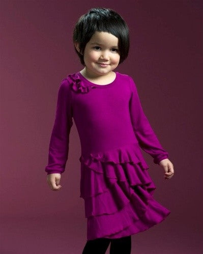 Sierra Julian Bargia fuschia Dress - Honeypiekids.com